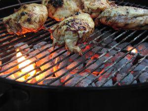 Chicken on the BBQ